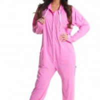 Cotton Onesuit Pajamas For Adults - Hoodie, Footie or Drop Seat PJ Styles