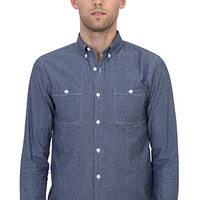 Fitted/Classic Button Down Chambray
