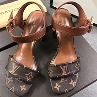 Louis Vuitton Fashion princess high heels