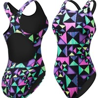TYR Women's Kaleidoscope Maxfit Back Swimsuit