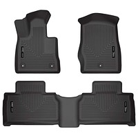 Husky Liners Fits 2020 Ford Explorer Weatherbeater Front & 2nd Seat Floor Mats Ez Store USA