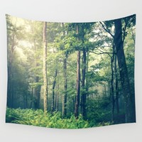 Inner Peace Wall Tapestry by Olivia Joy StClaire