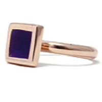 Jess Stackable Ring *Gold and Green, Gold and Purple, Silver and Blue*
