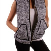 Favorite Dream Herringbone Vest
