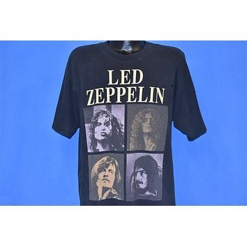 90s Led Zeppelin Zoso Distressed Rock Band t-shirt Extra Large