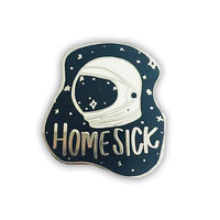 Home Sick Enamel Pin