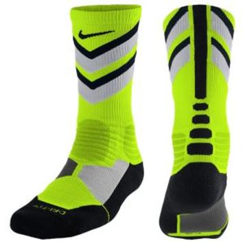 Nike Hyperelite Chase Crew Socks - Men's at Eastbay