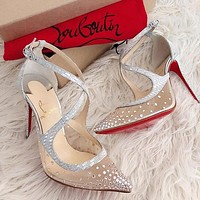 Christian Louboutin 2021 New pointed high heels