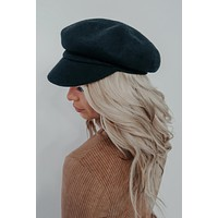 In The City Hat: Black
