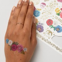 Anna Sui Limited Edition Nail & Body Tattoo Sticker at asos.com