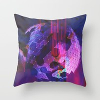 Powerful Defeat Throw Pillow by Ducky B