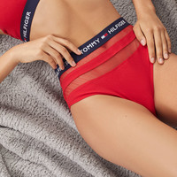 Tommy Hilfiger Mesh High-Waisted Undie | Urban Outfitters