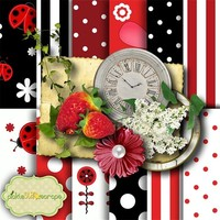Ladybugs Vol1 Mini ~ FREE for a Limited Time!! by PickleStar Scraps