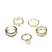 Good As Gold Ring Stack