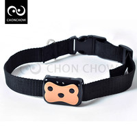 Mini Waterproof GPS Pet Tracker with Collar for Cats & Dogs