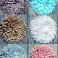 Chiffon Flower Blanket Poser Photo Prop (Multiple Colors Available) - PRA3 CLOSEOUT