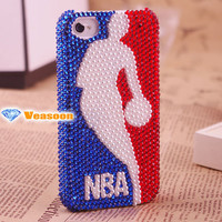 Unqiue iphone 4 case,iphone 4 case,iphone 4s case,NBA iphone 4 case,basketball case,gift for husband,gift for him,Unique Christmas gift