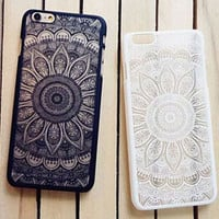 Vintage Lace Floral iPhone 7 7 plus 5 5s iPhone 6 6s Plus Case Cover Free Shipping+ Free  Gift Box