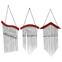 15 Tubes Windchime for Garden Yard Outdoor Decoration Wall Hanging Wind Chimes Mascot Craft Gifts