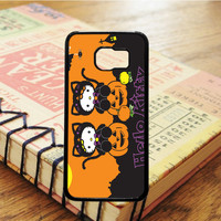 Cartoon Halloween Hello Kitty Samsung Galaxy S6 Case