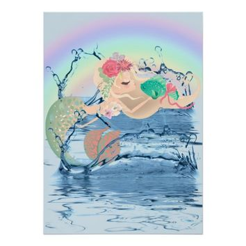 Mermaids Poster Paper (Semi-Gloss)