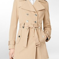 belted trench coat | White Label | Calvin Klein