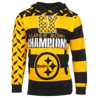 Pittsburgh Steelers NFL Super Bowl Commemorative Acrylic Hoody
