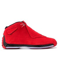 Air Jordan 18 Retro Red Suede
