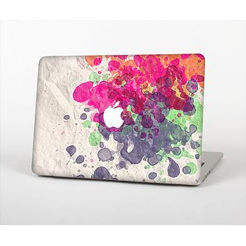 """The Vintage WaterColor Droplets Skin Set for the Apple MacBook Pro 13"""" with Retina Display"""