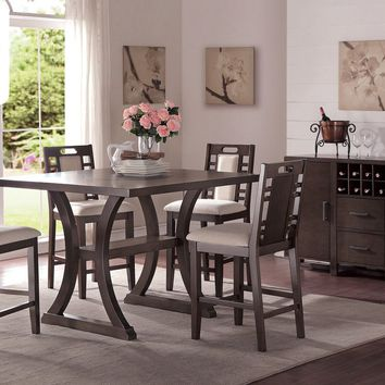 Counter Height Table+ 4 High Chairs