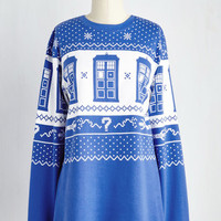 Sci-fi Long Long Sleeve Holly, Jolly Whovians Sweatshirt