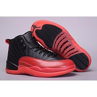 Air Jordan 12 Men Basketball Shoes 12s Flu Game 12s Sports Sneakers With Box