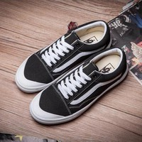 Vans Classic Fashion Old Skool Flats Sneakers Sport Shoes-34