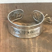 Silver Born To Wonder Bracelet