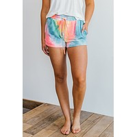 Easy Breezy Tie Dye Shorts