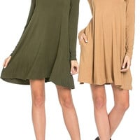 Lookin' For A Good Time Long Sleeve Dress