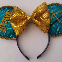 Merida Inspired Mickey Ears