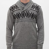 Buckle Black Polished Flying Sweater