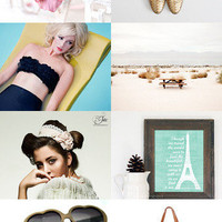 Perfect Summer Vacations! by Angela on Etsy