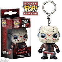 Funko Pop Pocket Jason Voorhees Keychain Friday The 13th