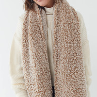 Oversized Teddy Scarf | Urban Outfitters