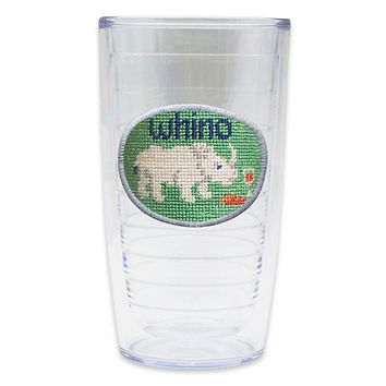 Whino Needlepoint Tumbler by Smathers & Branson