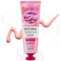 Missha Natural Color Pink Clay Mask (Moisturizing & Energy)