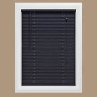 Bali Cut-to-Size, Black 1 in. Blackout Vinyl Mini Blind - 20.5 in. W x 48 in. L, 76-1156-23-20.5-48 at The Home Depot - Mobile
