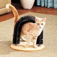 Arched Cat Scratcher/Groomer