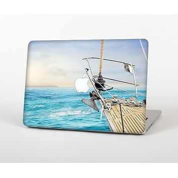 """The Vibrant Ocean View From Ship Skin Set for the Apple MacBook Pro 13"""" with Retina Display"""
