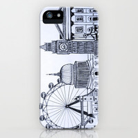 You sound like you're from London iPhone Case by Nicole Cioffe