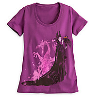 Maleficent and Dragon Tee for Women - Sleeping Beauty