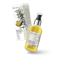 Facial Cleansing Oil & Makeup Remover Rosemary Citrus - for Face + Eyes - Non irritating