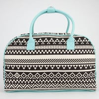 Ethnic Print Duffle Bag Black Combo One Size For Women 23097714901